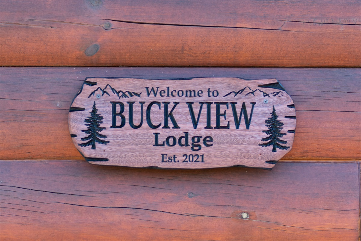 Welcome to Buck View Lodge