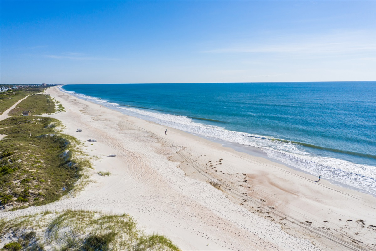 13 Miles of Beautiful Beaches Waiting for You