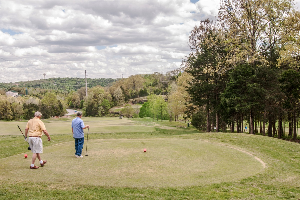 The 18-hole course has been rated 4 stars by Golf Digest