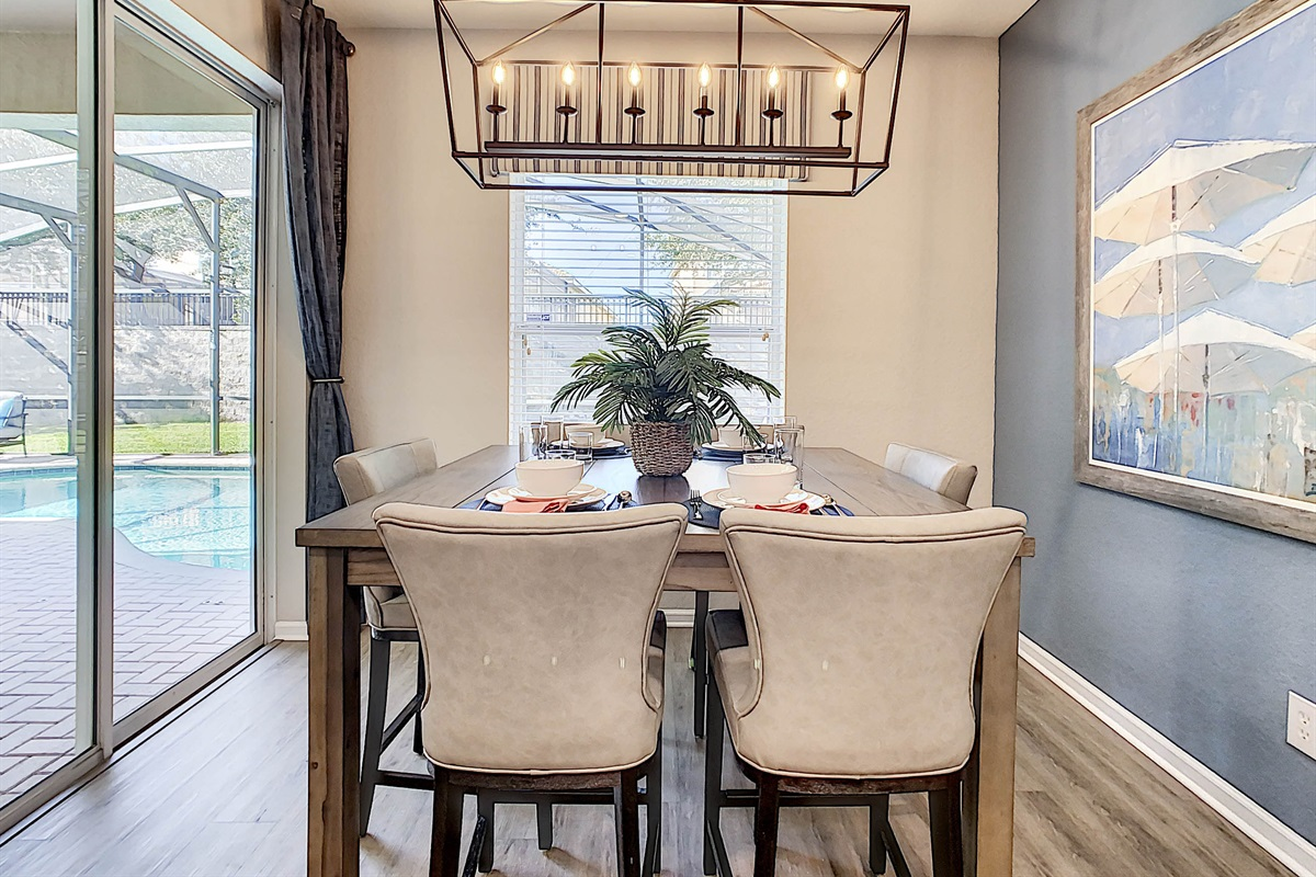 Breakfast Table And Chairs