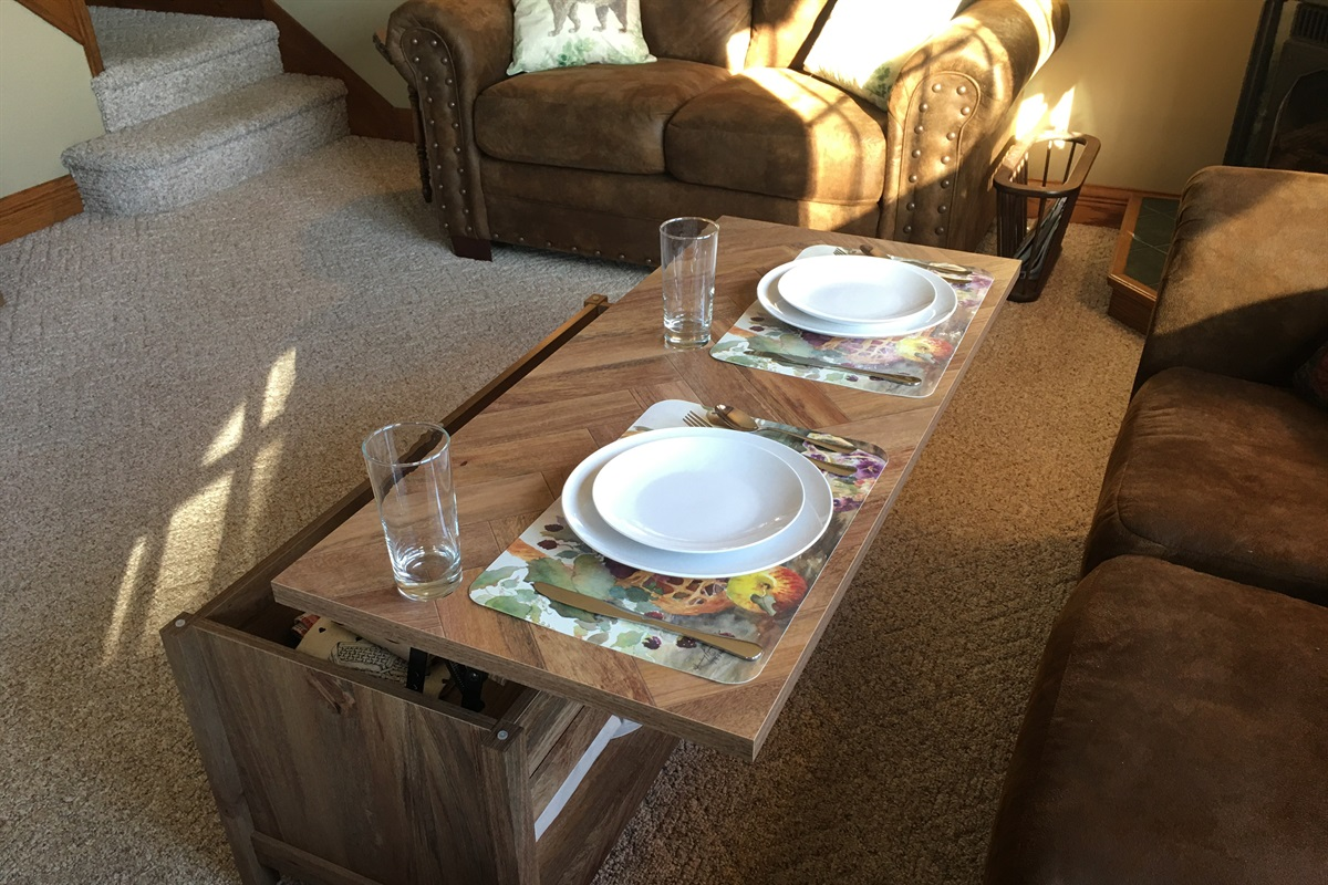 Seating for 2 more guests