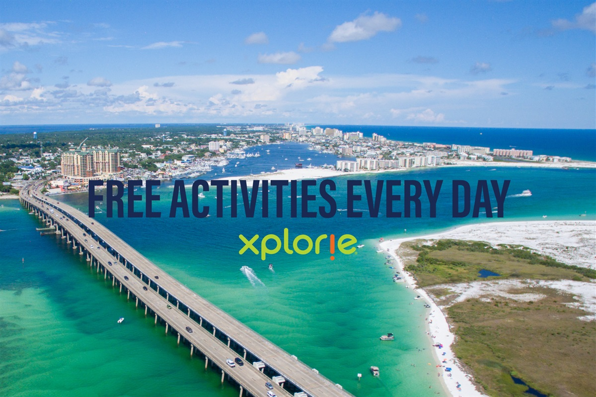 FREE Daily Activities in Destin