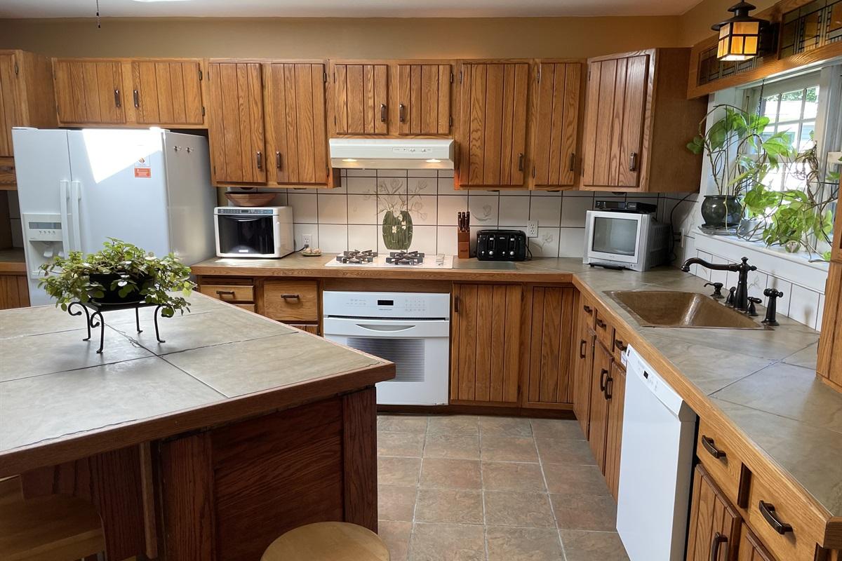Classic craftsman style kitchen