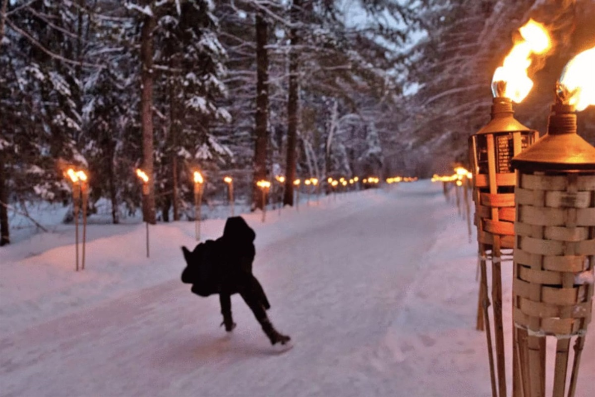 Arrowhead skating path - 15 min away!