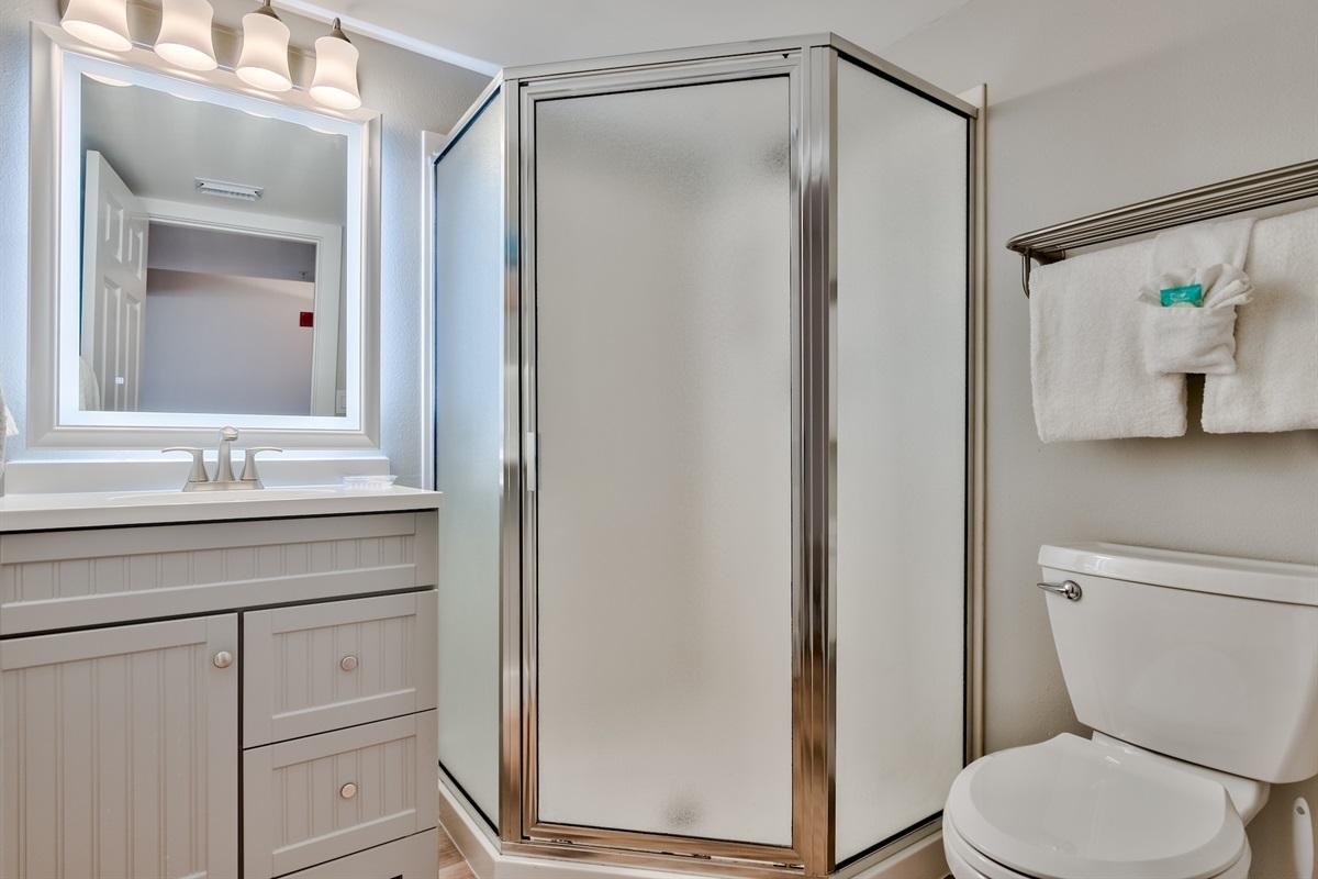 Second Bathroom in Hallway