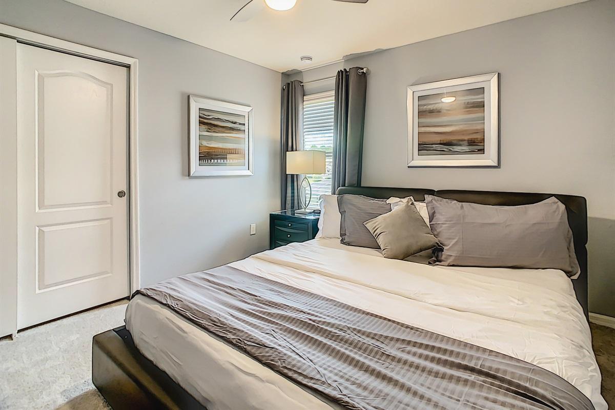 Bedroom 7-2nd Floor-King Bed