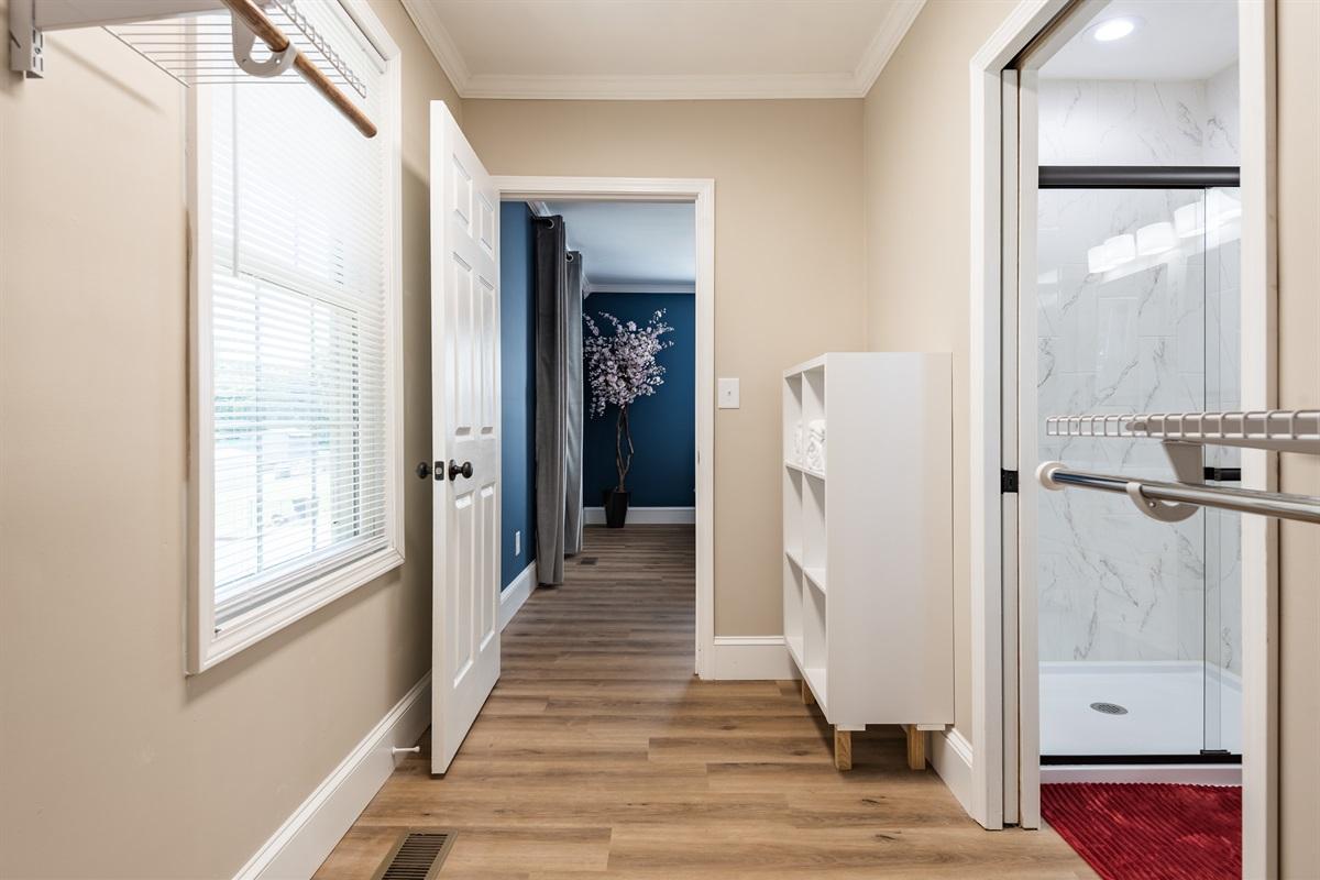 Large Master Walk-In Closet