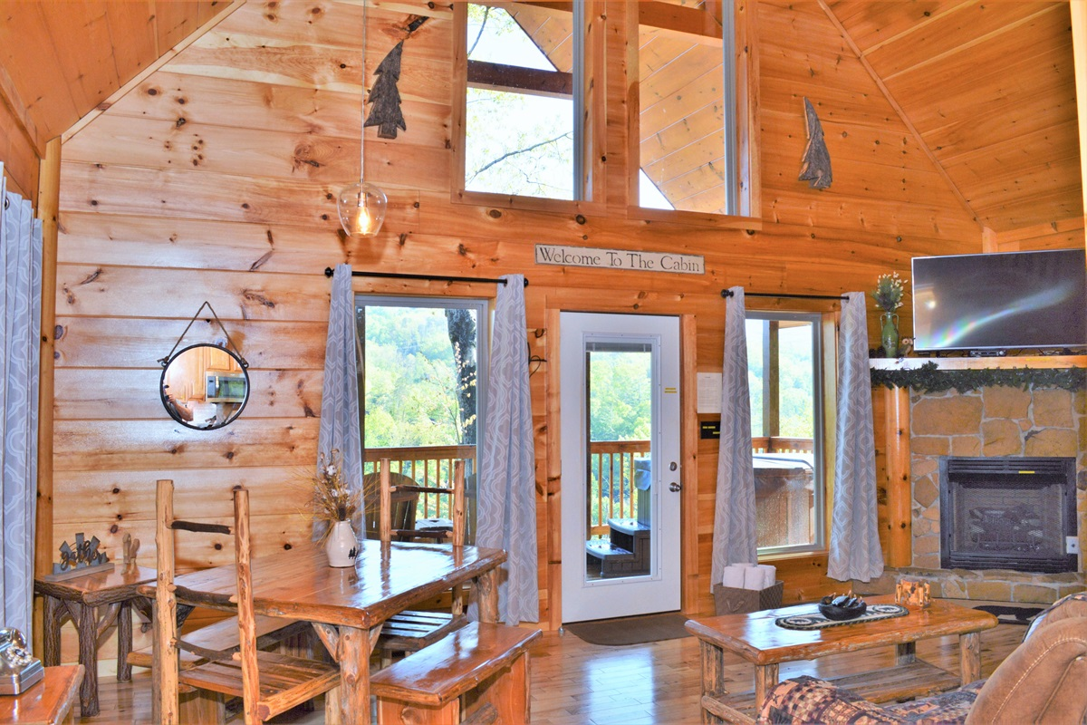 Perfect couple's cabin ❤