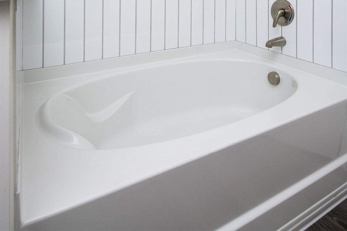 Relax in your own soaking tub!
