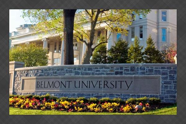Walk to beautiful Belmont University