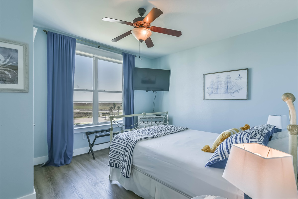 Bay View In Master Bedroom