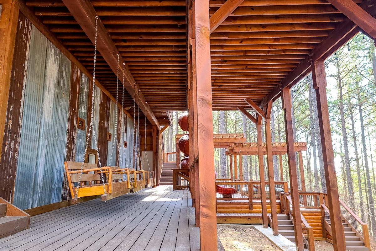 Lower Deck Swing Seating