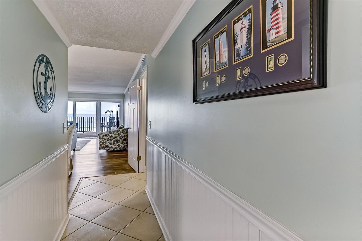 Interior Foyer Coming into Condo