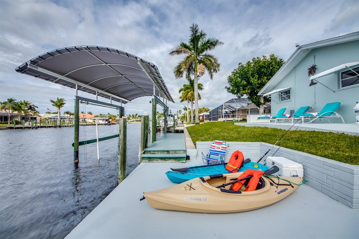 Sund Deck and dock