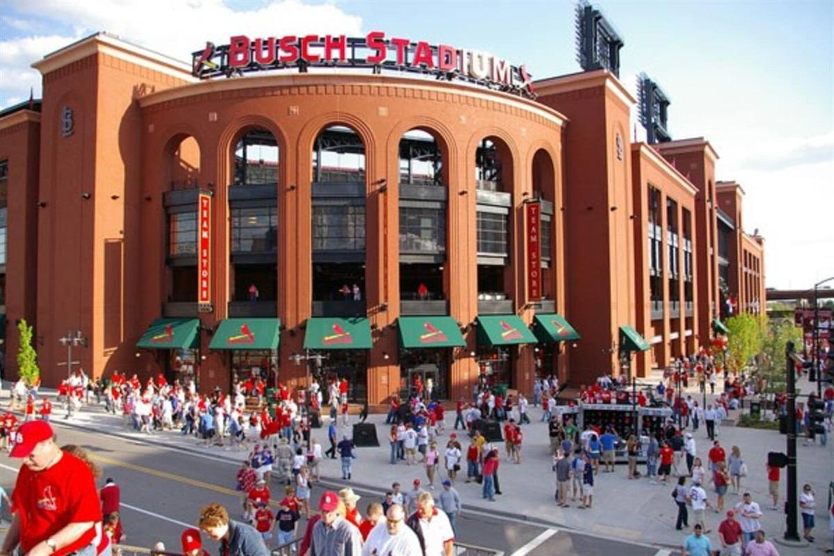 Home of the St. Louis Cardinals - Busch Stadium