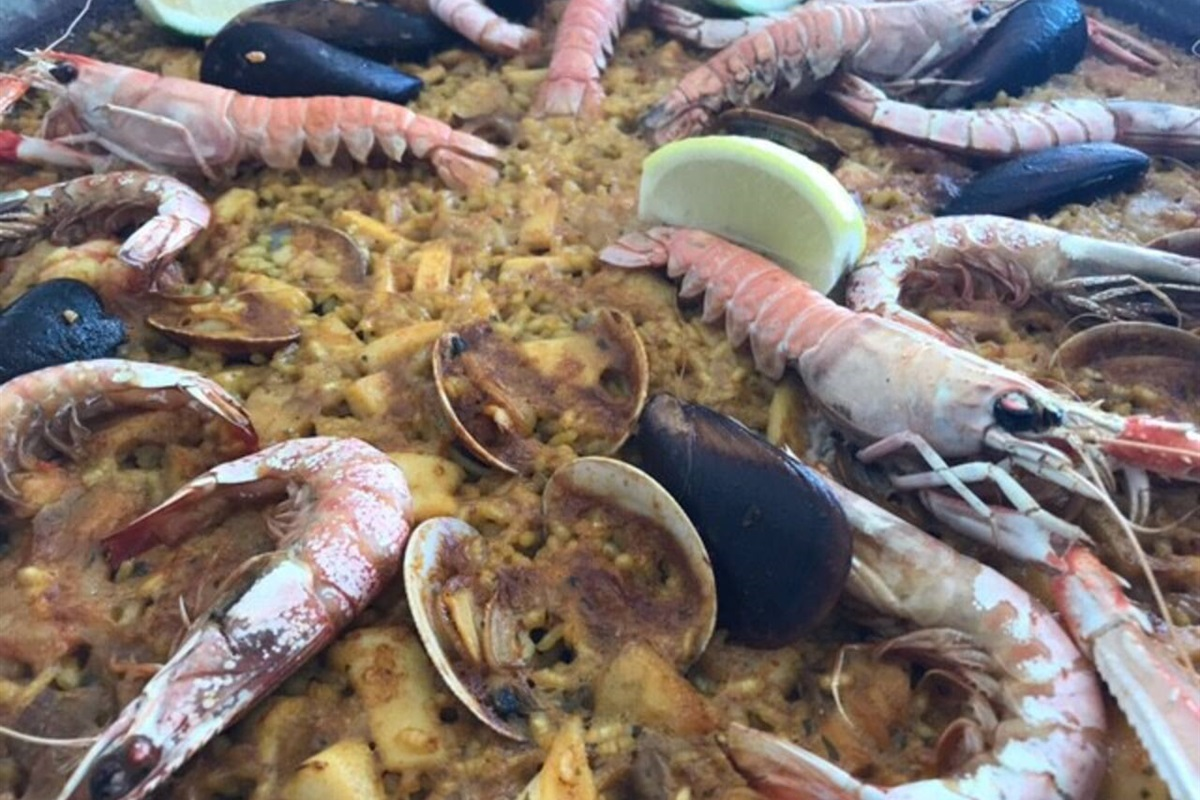 Paella, the local specialty