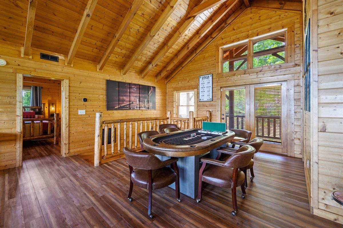 Top Floor Poker Table