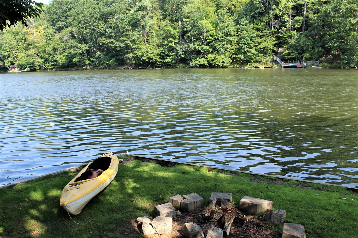 Relax and recharge at our peaceful Goodyear Lake retreat