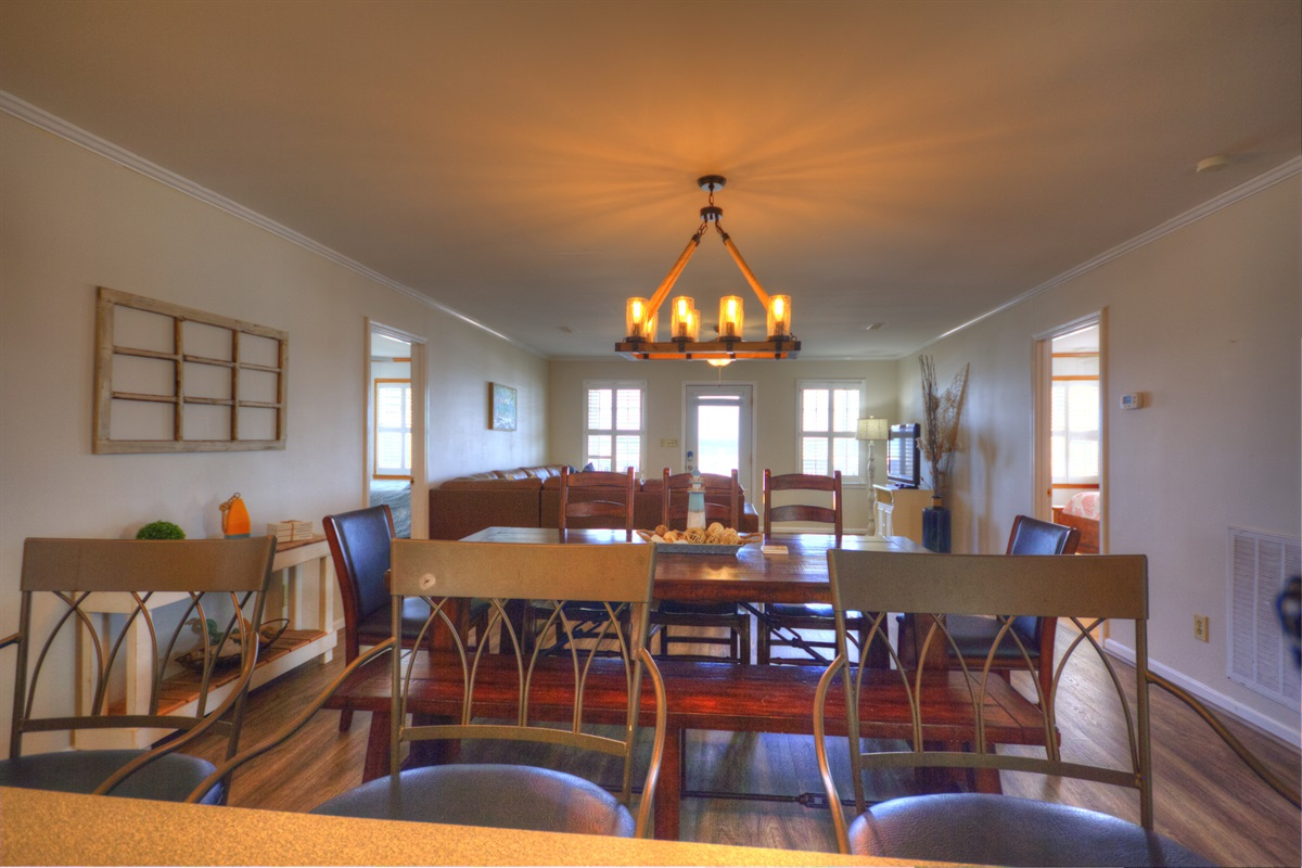 Ocean Views from the Kitchen, Dining and Family Rooms