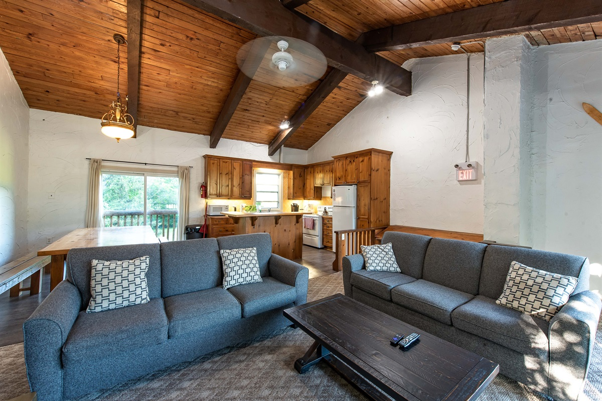 """Moose"" - Open concept living, dining & kitchen"