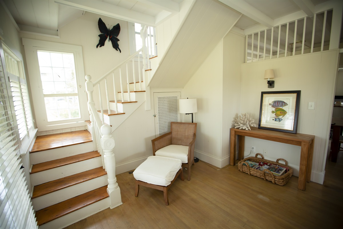 Living Room and Stairs to 2nd floor