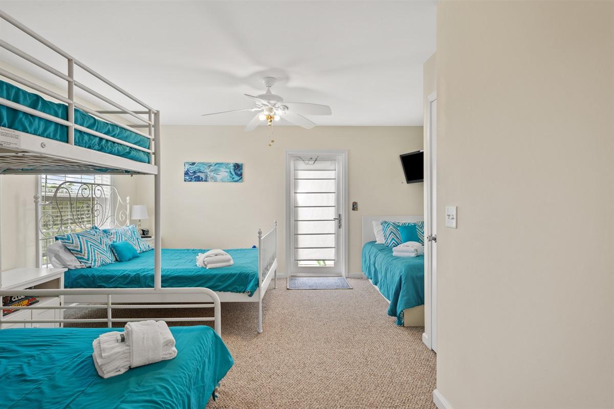 Bedroom # 3 (Third Level)