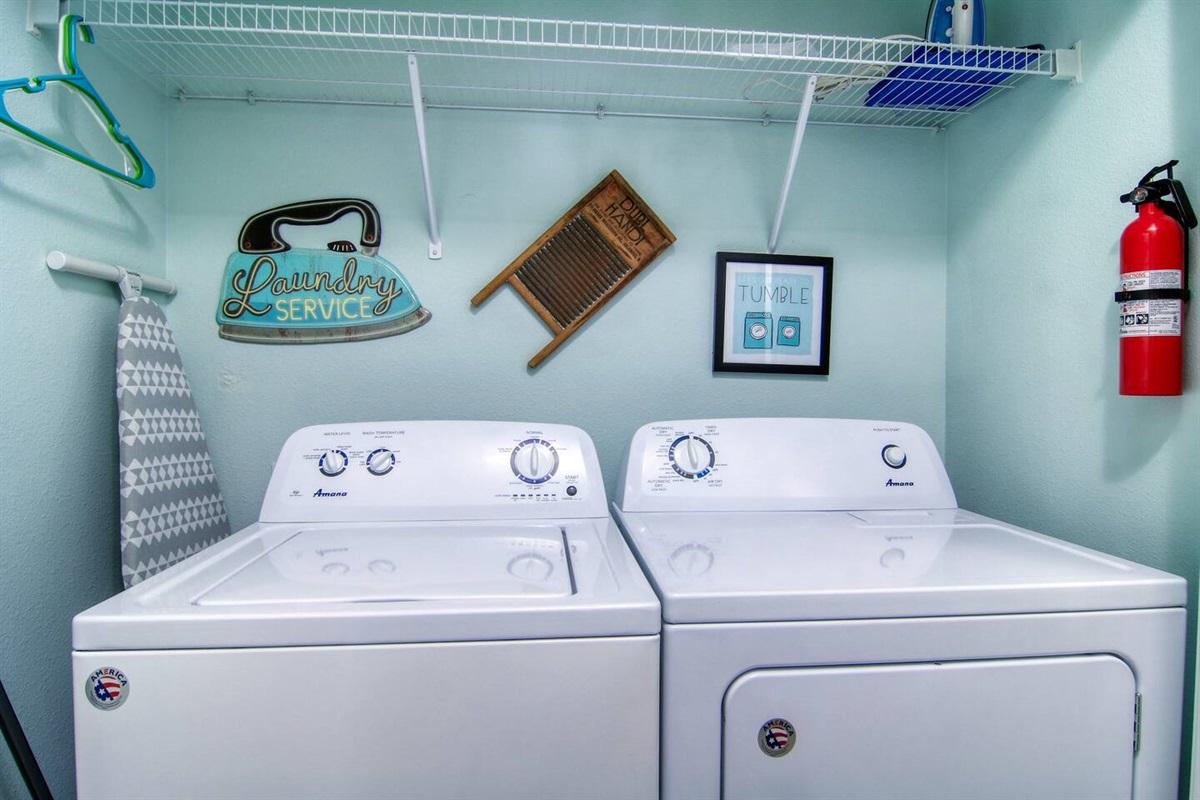 1st floor - laundry closet