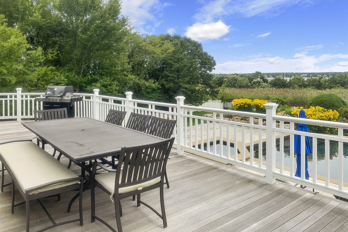 Deck and waterview
