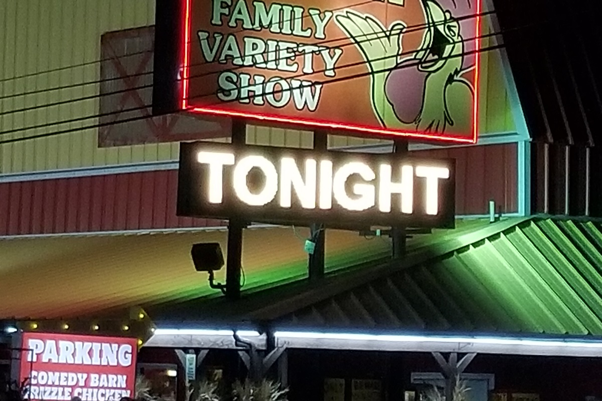 Comedy Show Attraction