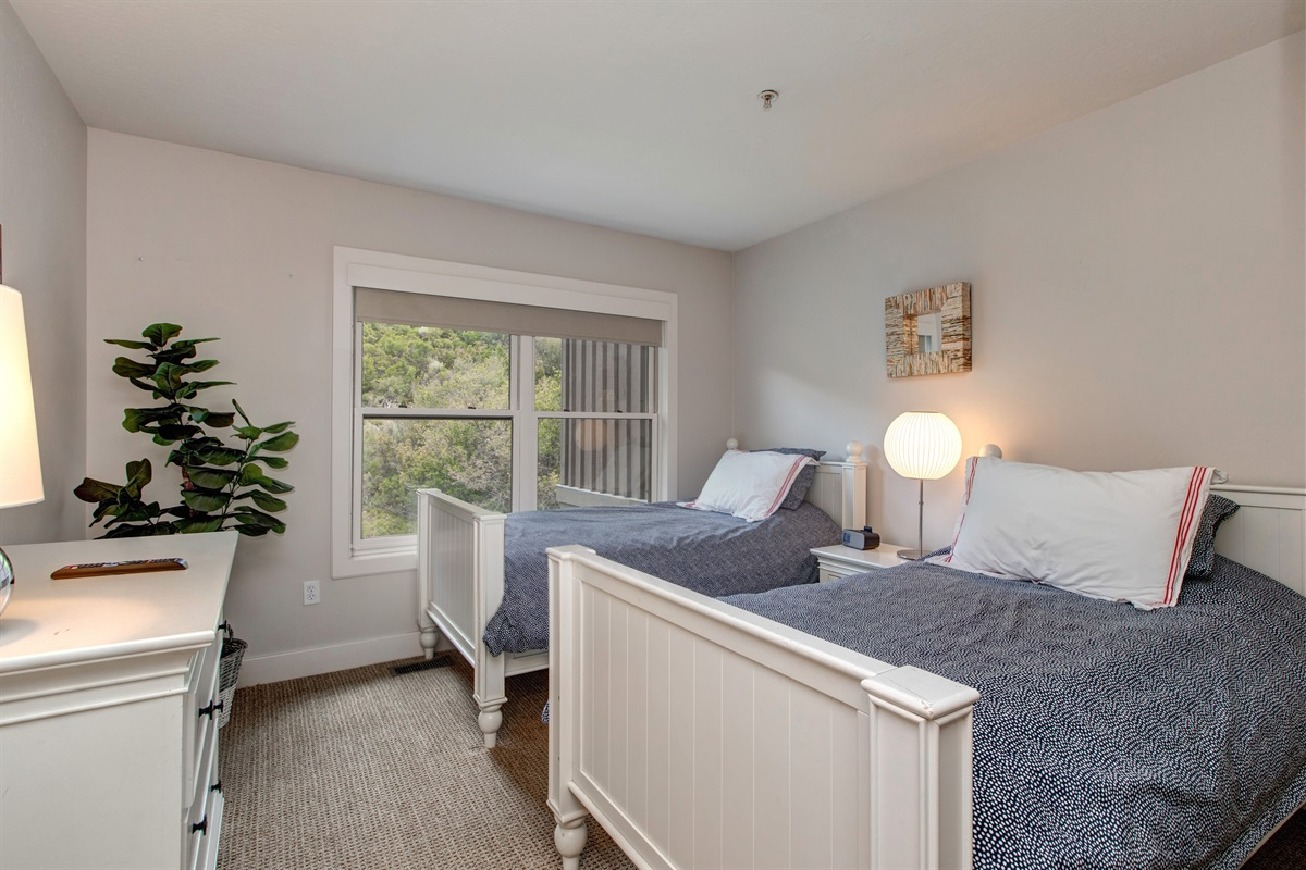 Bedroom Three - two twin beds