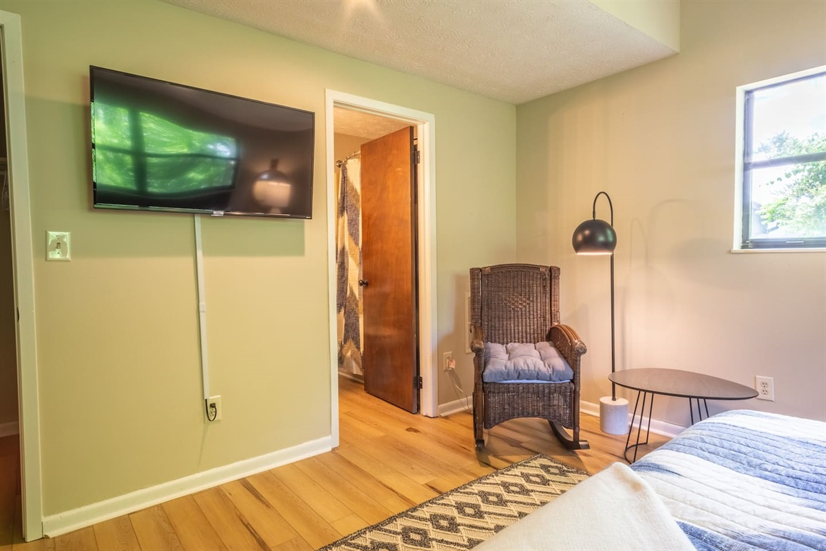 2nd bedroom off the living area