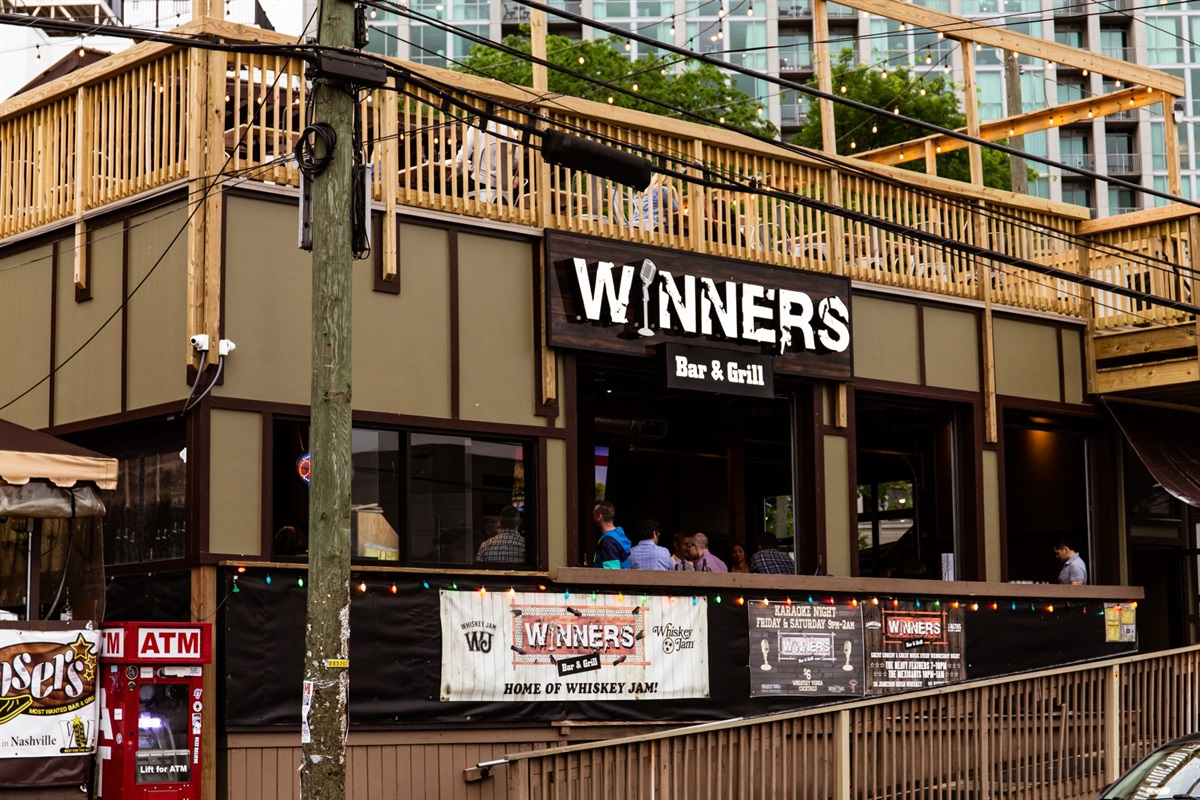 """Located 2 blocks from dozens of bars and restaurants in Midtown!  """"Winners"""" and """"Losers"""" are two local favorites!"""