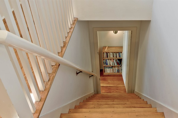 Back Stairs from the 3rd floor
