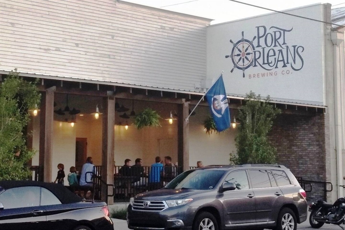Port Orleans Brewing Co nearby.