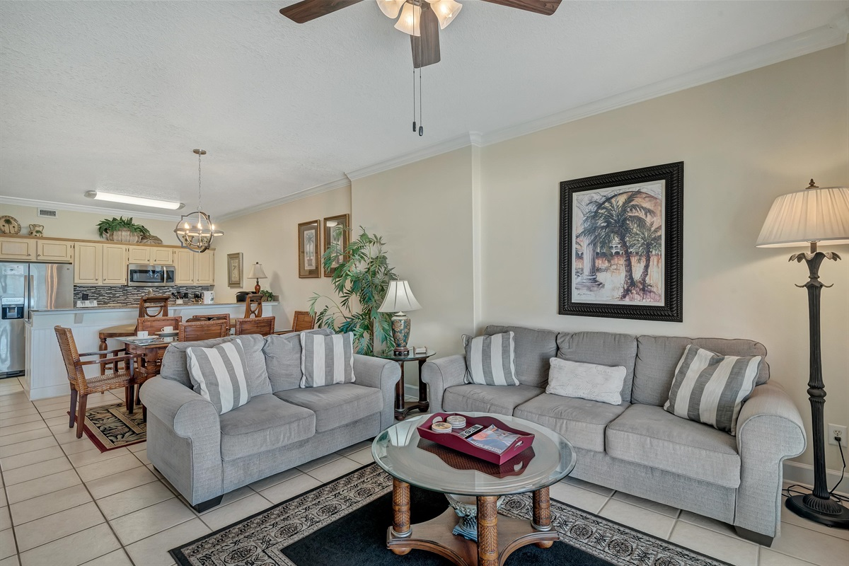 Spacious Open Concept Layout