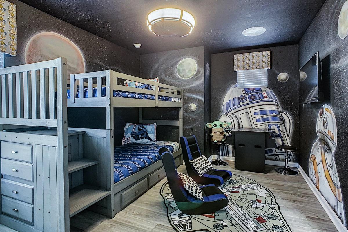 Bedroom #5-Twin Bunk Beds