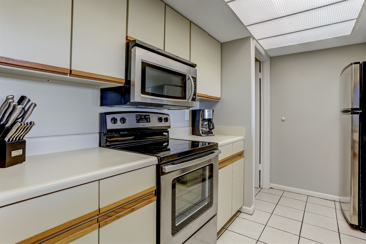 Kitchen with Drip Coffee Maker
