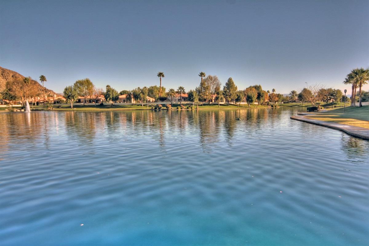 5 acre walking path lake