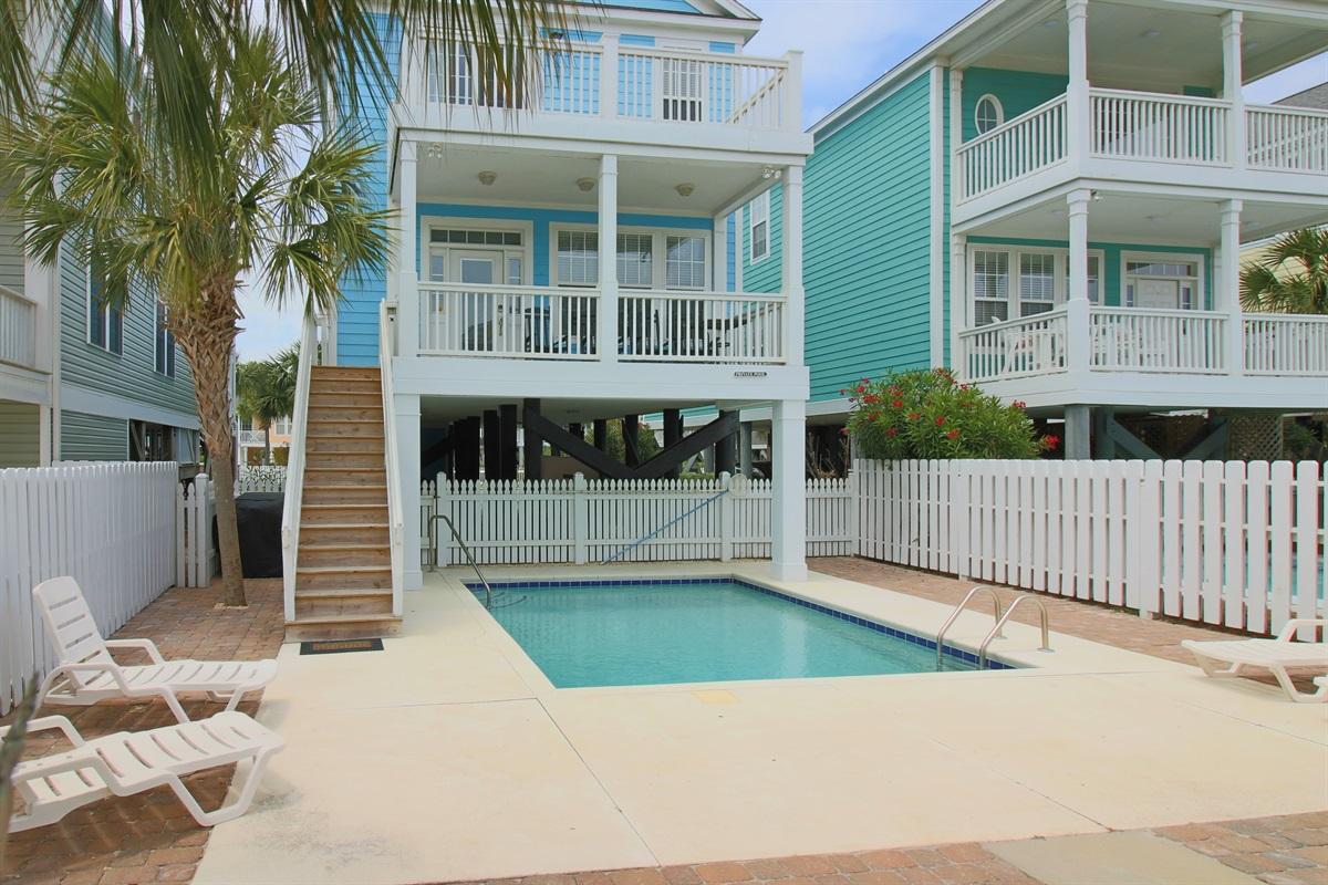 Ocean Side of House