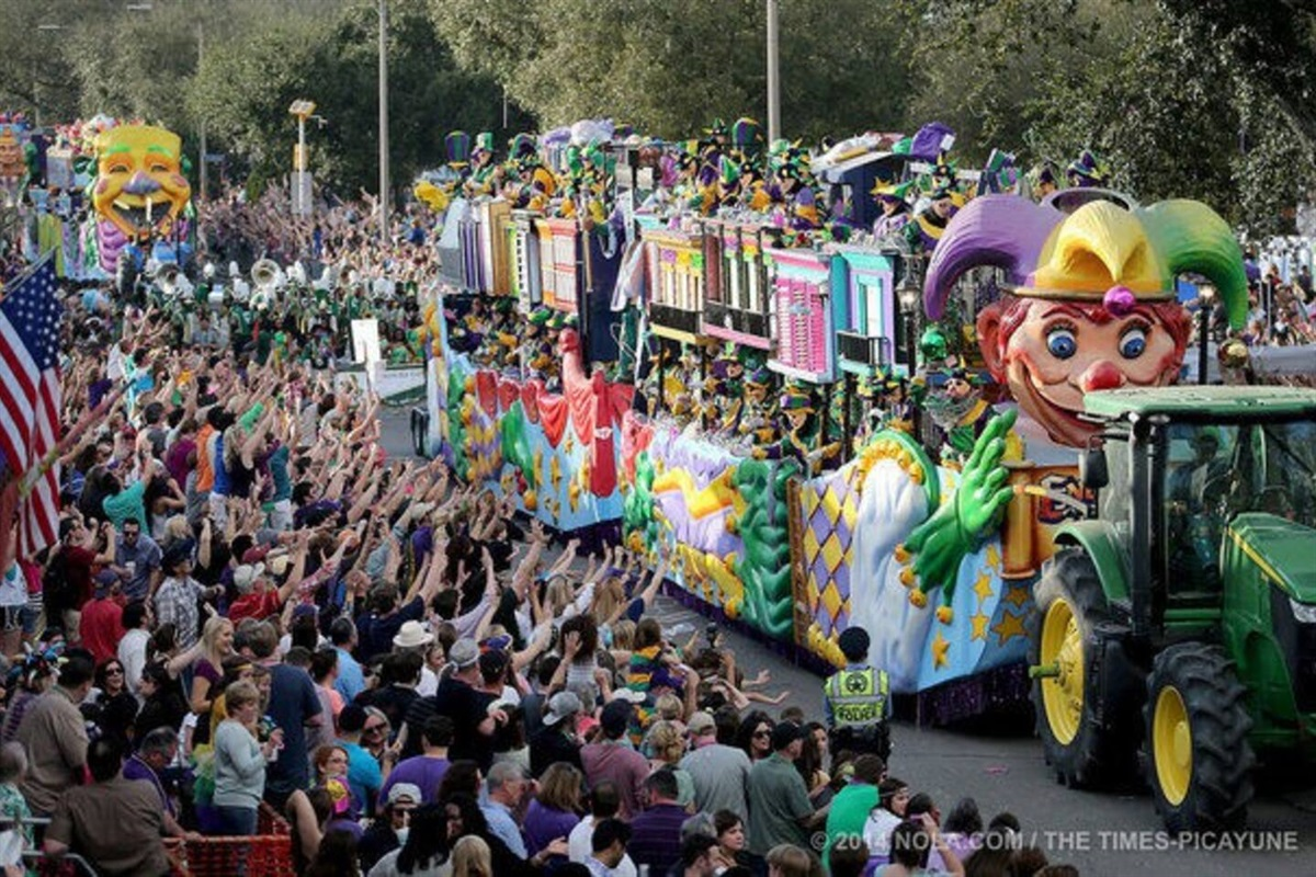 St. Patrick's Day Parade, which I have personally attended, is one of the biggest celebrations in St. Louis.