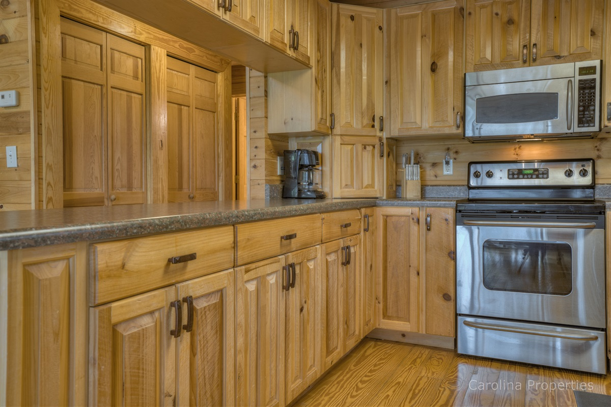 High-end appliances in the kitchen