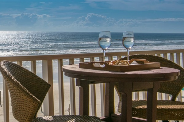 Extraordinary oceanfront views and sitings from your private balcony!