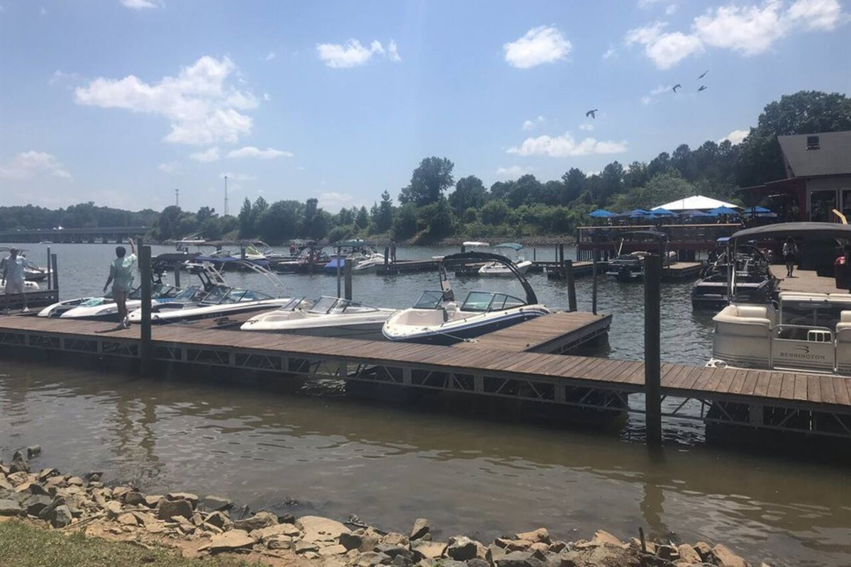 Lake Wylie:Closest boat landing is near the house.Drive time: 10 minutes or less