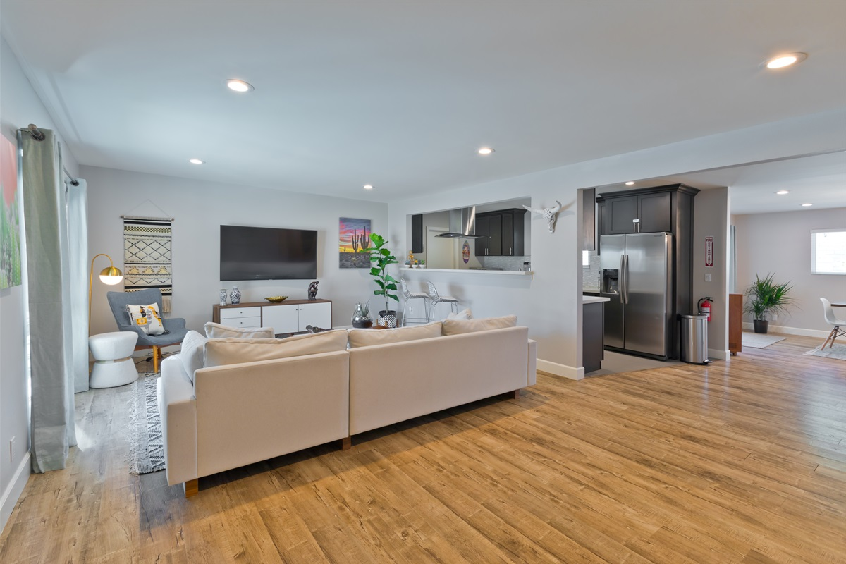 AZTECA features an open floor plan with enough space for everyone to join in on the fun.
