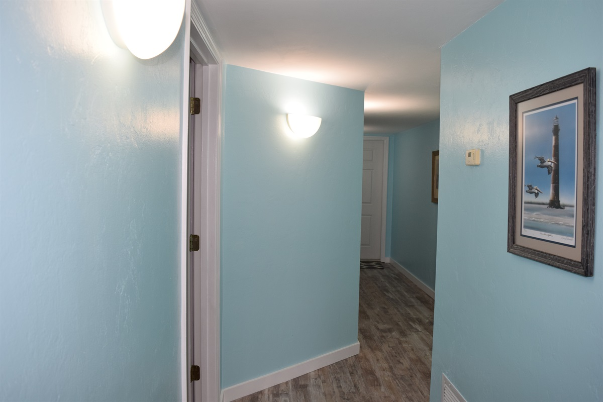 Hallway from Living Area