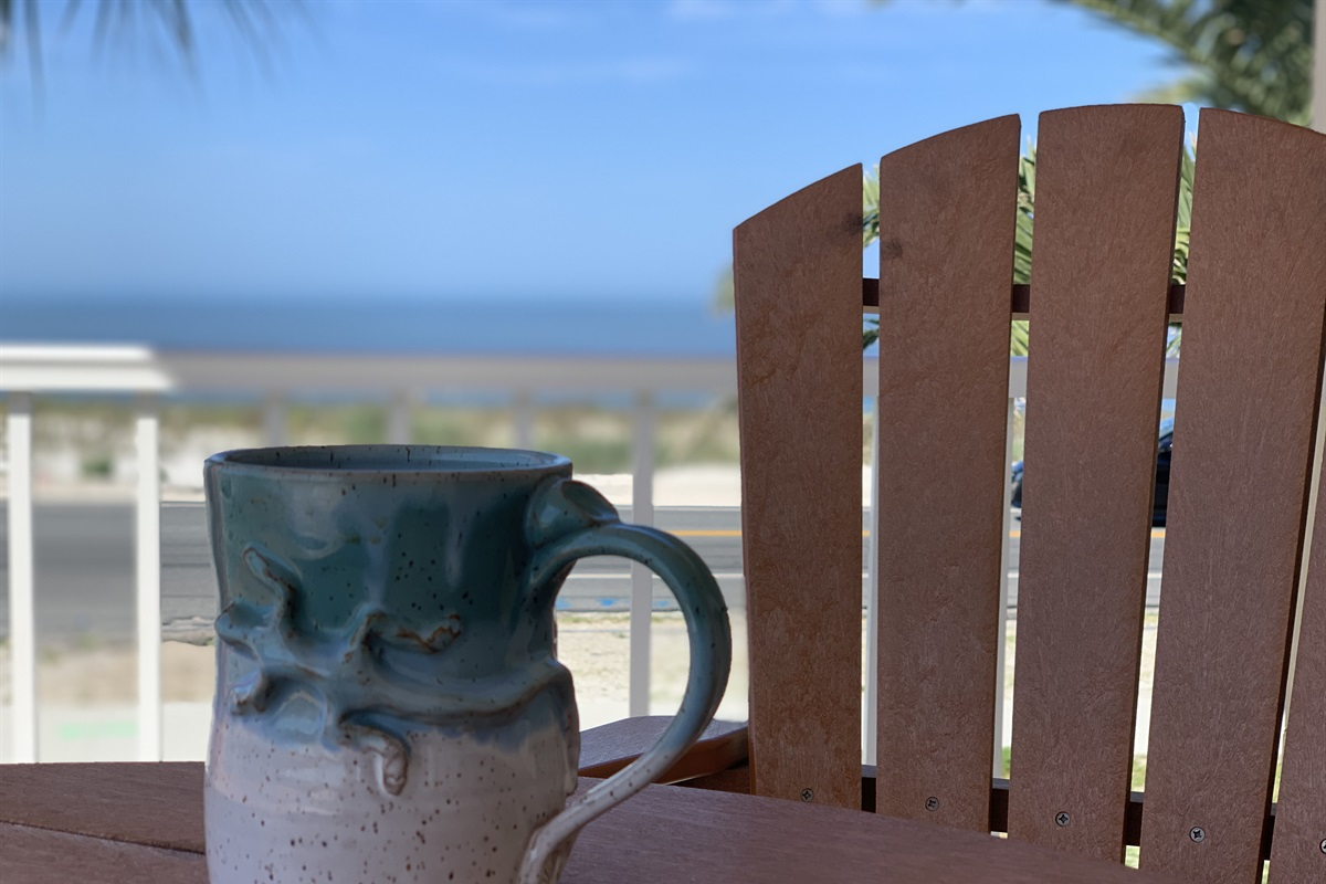 Have a cup of coffee and a little bit of ahhhh....