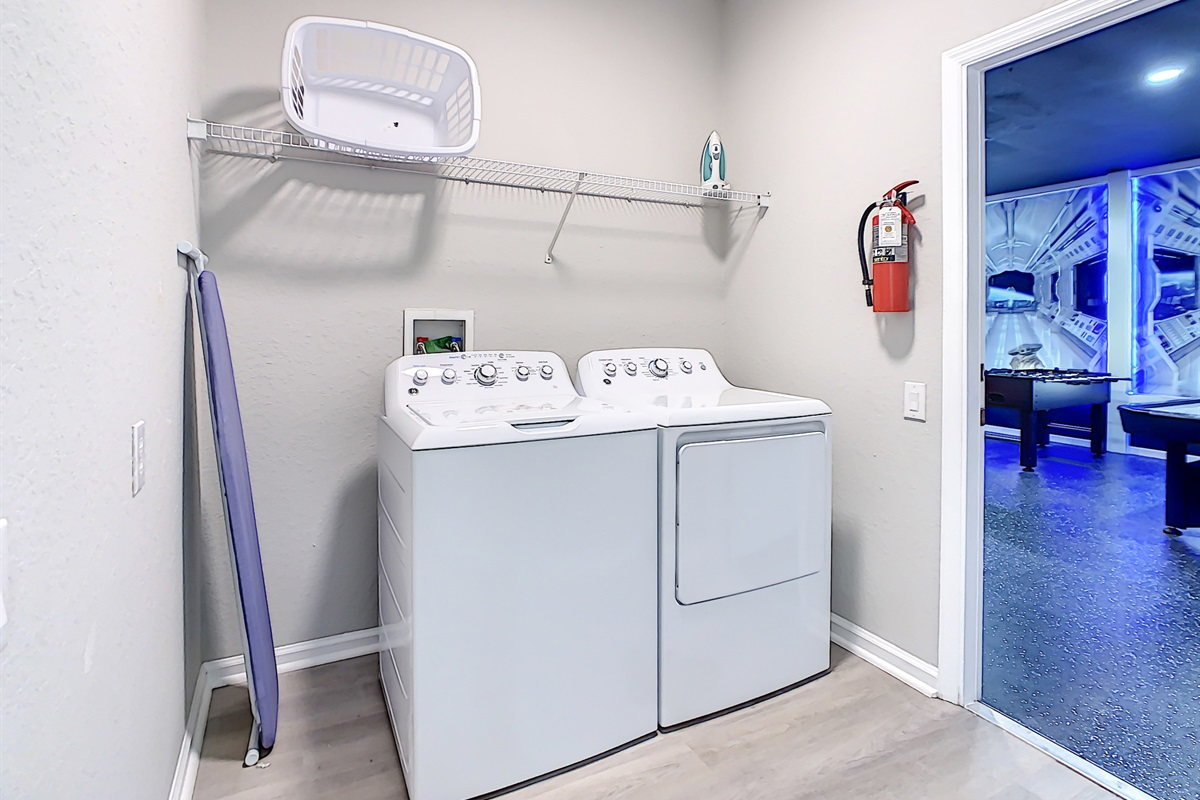 Laundry Machines are Free to Use