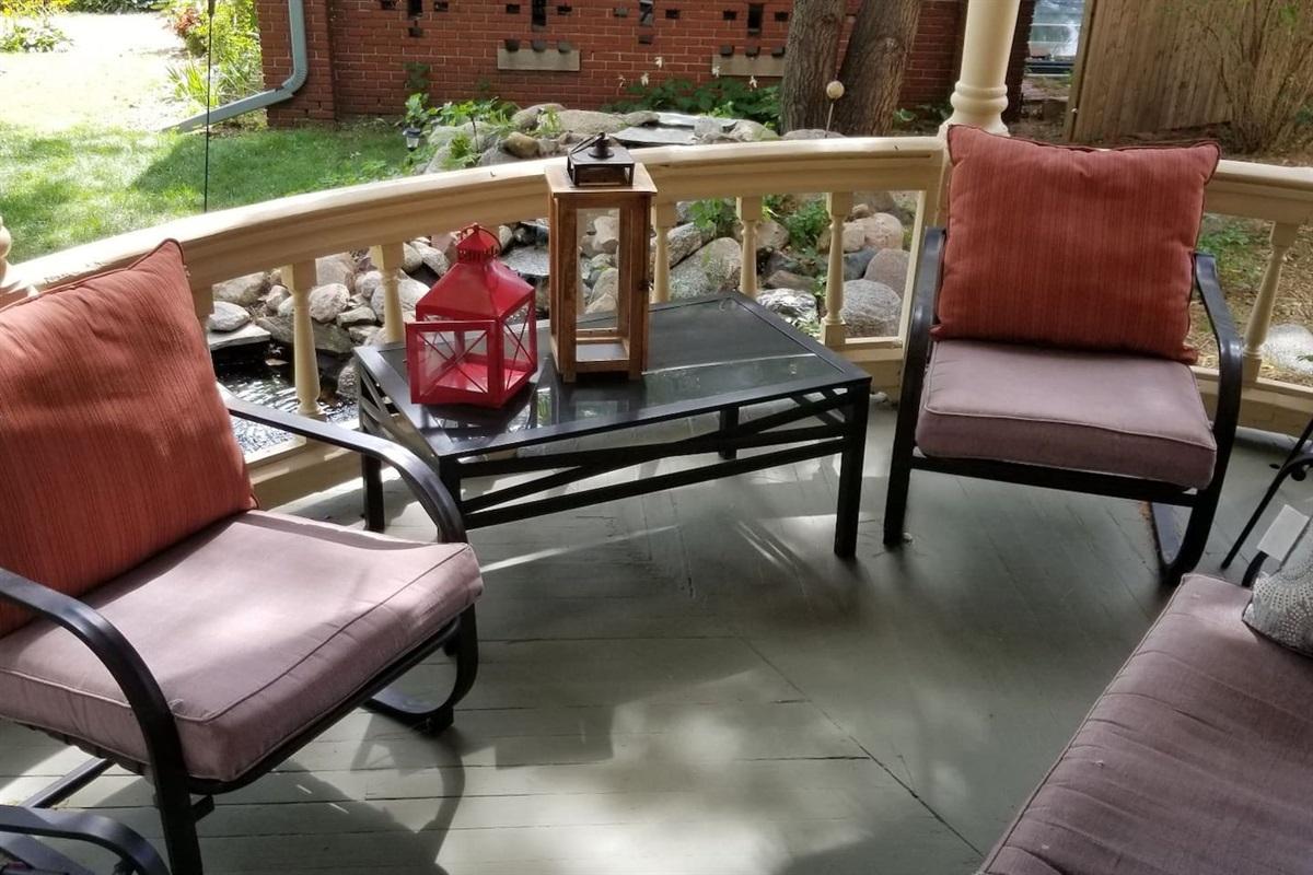 Common Area - Wraparound porch seating