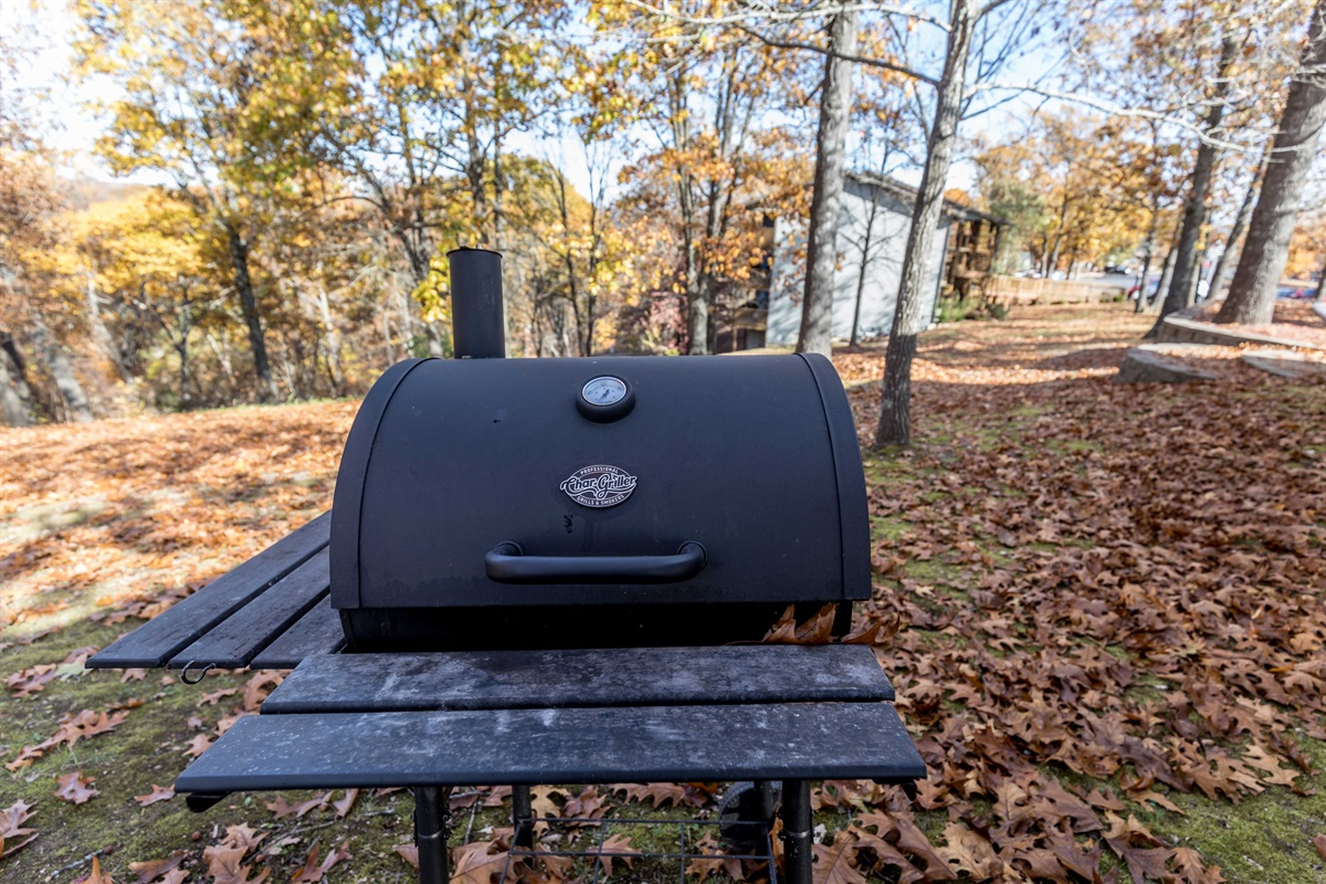 Grills are available around the property!