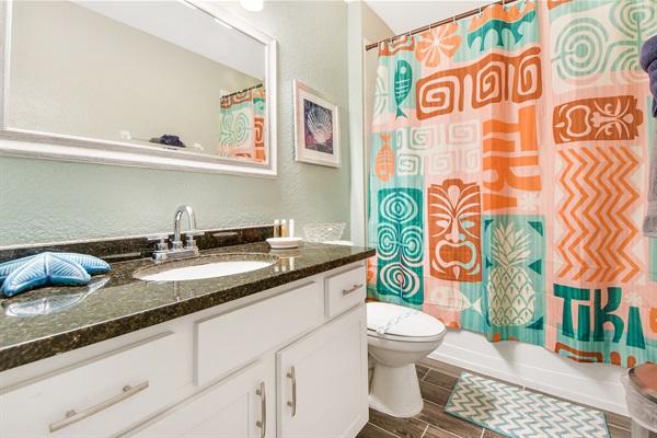 Large, Spacious Modern Bathrooms Throughout